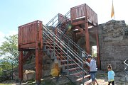 Nová vyhlídka na hradu Kumburk