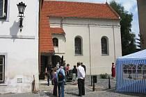 Ze slavnostního otevření jičínské synagogy.