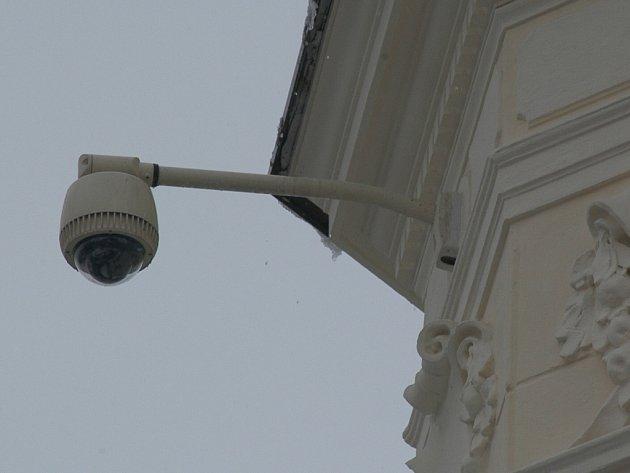 Bezpečnostní kamery sledují také vybrané ulice a prostranství Jičína.