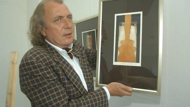Kristian Kodet nyní vystavuje v hořické Galerii plastik.