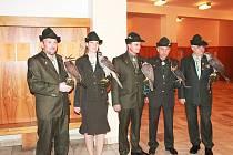 Reprezentační myslivecký ples ve Valdicích.