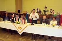 Výroční zasedání soboteckých baráčníků.