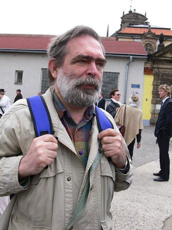 Bývalý politický vězeň Jiří Gruntorád.