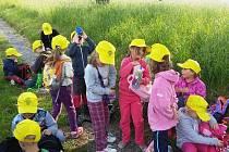 Děti ze železnické MŠ vítaly jaro.
