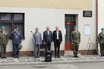 Slavnostního odhalení pamětní desky se zúčastnil i poslanec Parlamentu České republiky Přemysl Sobotka.