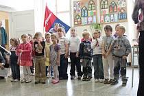 Zahájení oslav v Cerekvici nad Bystřicí.