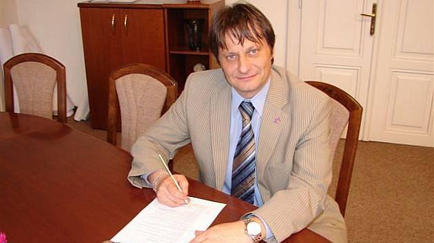 Starosta Hořic Ivan Doležal.