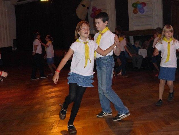 První skautský ples v Jičíně.
