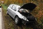 Lázeňská ulice v Bělohradu začíná být rizikovým místem. V poslední době se tu stalo už několik nehod.