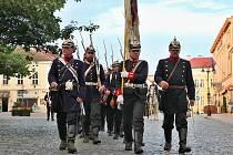 Jičínská bitva, připomínka války prusko-rakouské roku 1866.