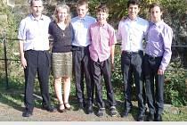 Rodina Jónových z Vrchlabí se zapojila do projektu AFS.