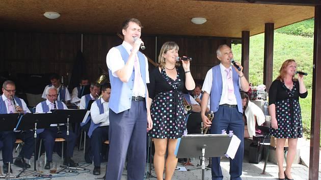 Táboranka hrála také na Samšině.