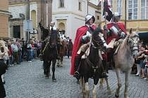 Z návštěvy vévody Valdštejna v Jičíně.