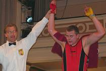 Boxer Martin Křelina.