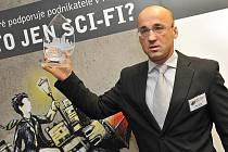 Oceňování vítězů soutěže Město pro byznys 2011: Rudolf Cogan za Novou Paku.