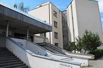Budova městského úřadu - vchod.