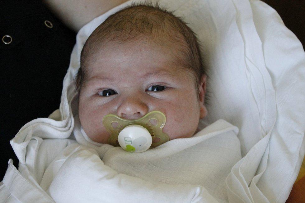 Kryštof Sklenář přišel na svět 30. ledna s mírou 55 cm a váhou 5,65 kg. Z prvorozeného synka se radují Dita a Martin Sklenářovi, společně budou bydlet v Jičíně.