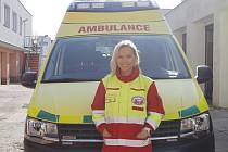 Lenka Valentová pomáhá zachraňovat životy na Jičínsku.
