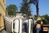 Nehoda v Radimi.