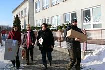 Druhé kolo prezidentských voleb ve Valdicích.