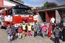 Den otevřených dveří u novopackých hasičů.