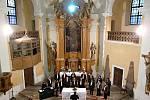Koncert v cerekvickém kostele.