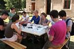 Mezinárodní setkání mládeže.