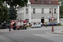 Z místa tragické nehody v Sobotce.