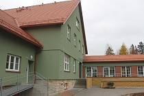 Renovovaný objekt pro stacionář Apropo.