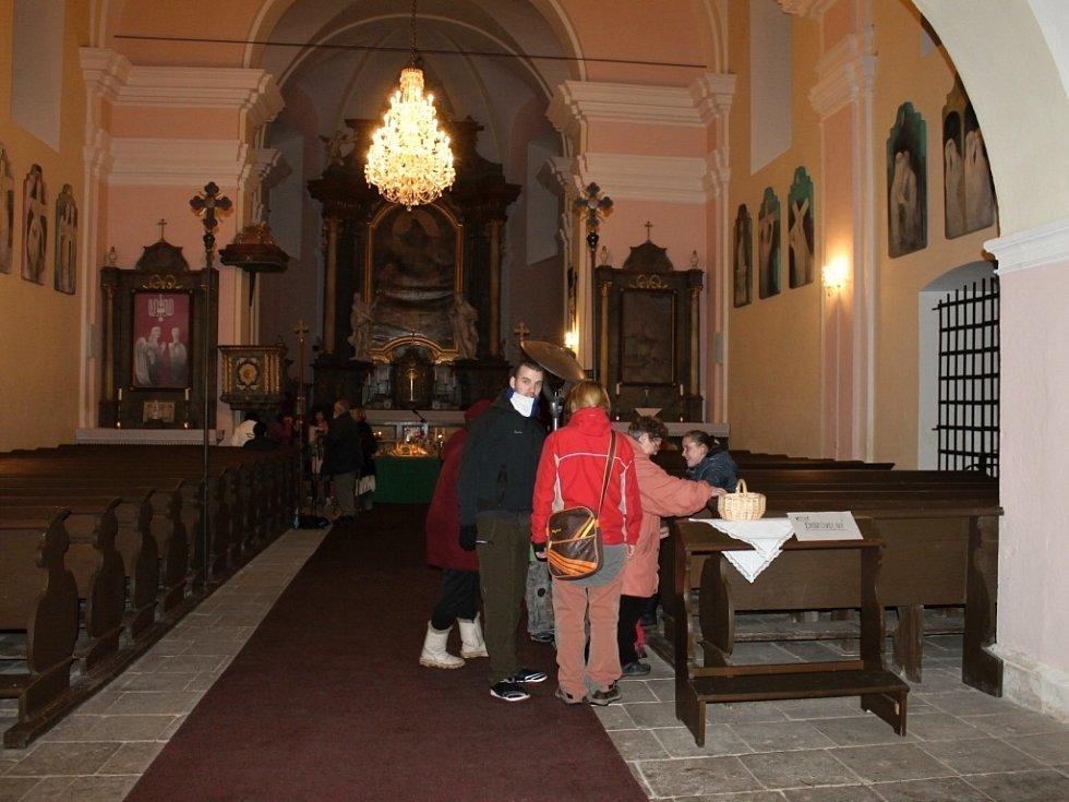 Z konecchlumského kostela.