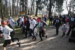 Jarní Žabí běh na Prachově.