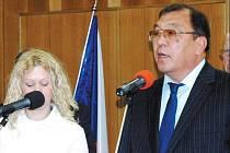 Mimořádný velvyslanec Kazašské republiky Šarip Omarov.