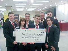 Bělohradští studenti v soutěži.