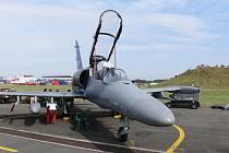 Z letecké přehlídky CIAF.