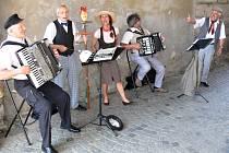 Řehečské kvarteto pod Valdickou bránou.