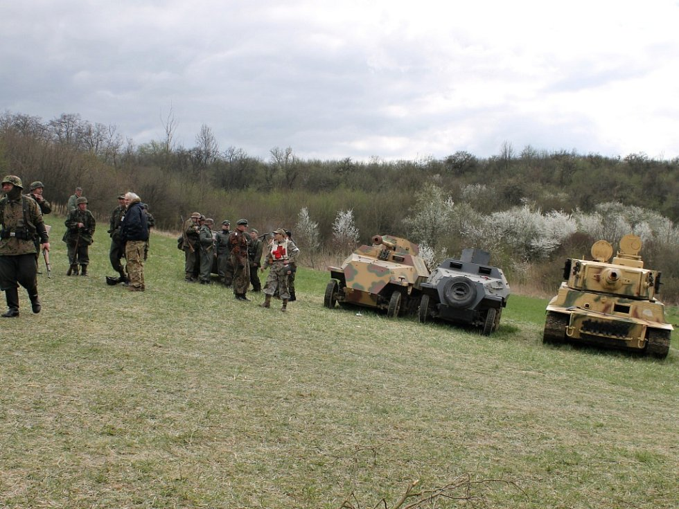 Vojensko-historický den v Kopidlně.