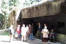 Z návštěvy pěchotního srubu T-S 26 (bunkru) v Odolově.