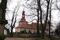 Hořický kostelík sv. Gotharda.