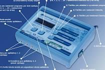 Moderní magnetoterapeutický přístroj.