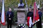 Pomník Tomáše Garrigue Masaryka opět v Miletíně.