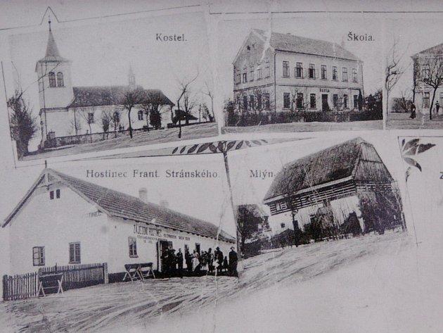 Historické pohlednice Robous.