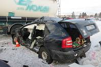 Dopravní nehoda u Vidochova.