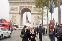 Obě kamarádky si ještě ve středu vychutnávaly Paříž.