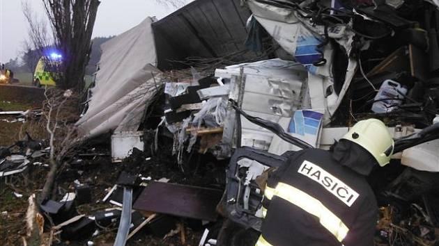 Tragická dopravní nehoda u Konecchlumí.