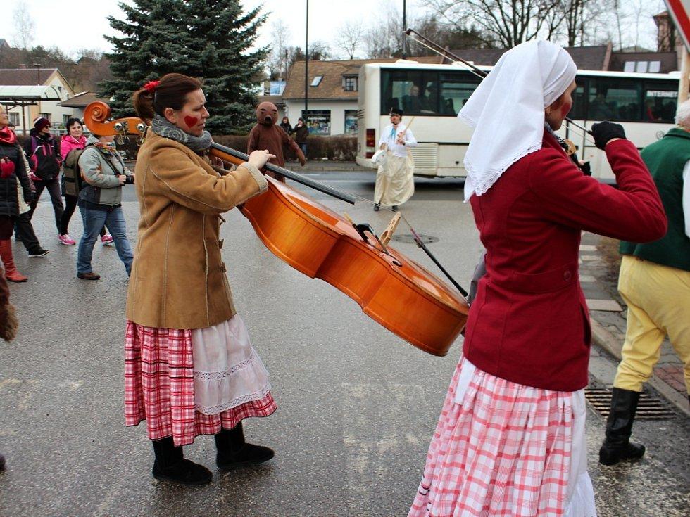 Masopustní oslavy v Nové Pace.