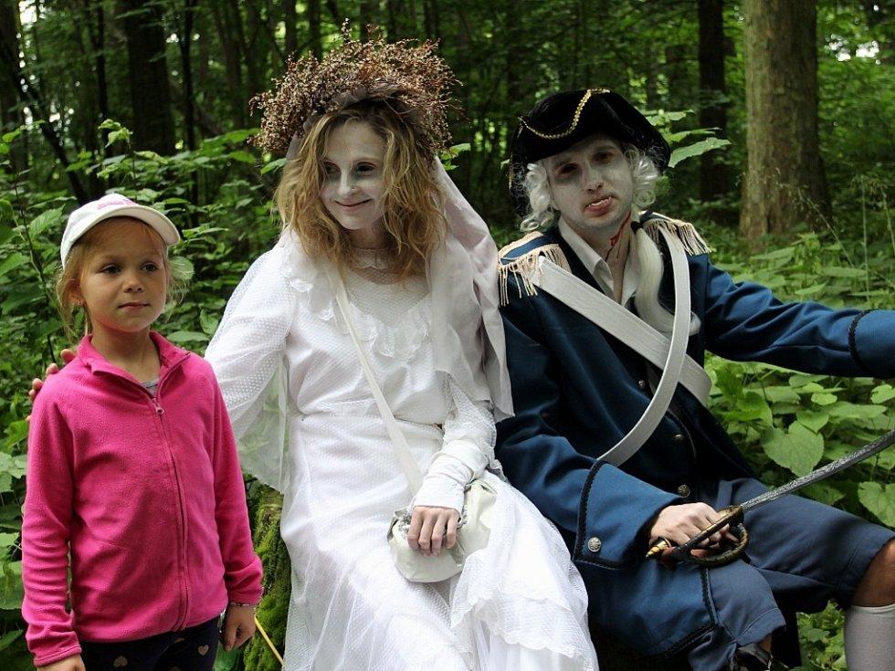 Strašidelná Bažantnice v Lázních Bělohradě.