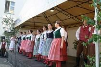 Z bělohradského folklorního festivalu Pod Zvičinou.