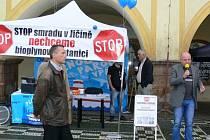 Stop jičínské bioplynové stanici.