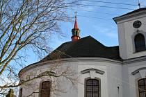 Cerekvická kaple Narození Panny Marie.