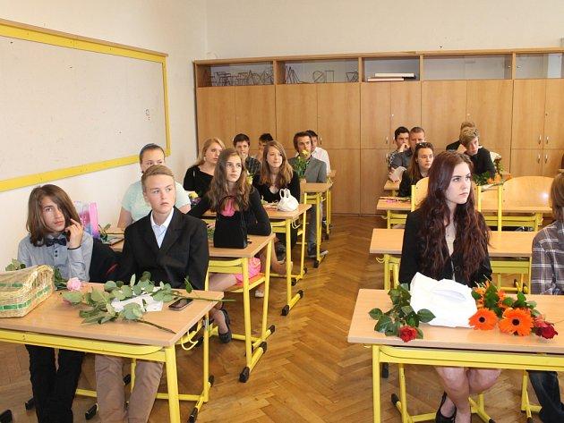 Poslední školní den v jičínské 2. ZŠ.